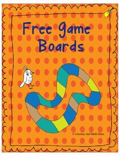 Here are two free game boards for use with task or question cards.