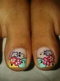Resultado de imagen para deko uñas para pies Pedicure Designs, Toe Nail Designs, Nails Design, Cute Pedicures, Manicure And Pedicure, French Pedicure, New Nail Art, Fabulous Nails, Toe Nails