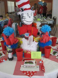 Lady's Tea- The Cat In The Hat Table