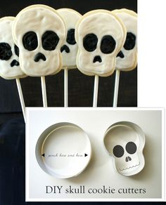 Make Your Own Skull Cookie Cutters