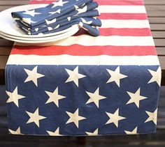 4 words.  Stars.  Stripes.  Pottery.  Barn.  Perfect!  Oh wait, that is five words.