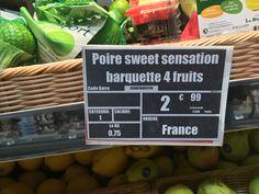 1 kg la poire !