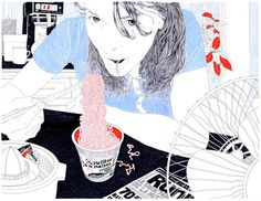 Drawings by Carine Brancowitz