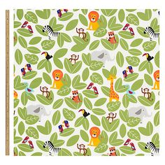 Buy John Lewis Animal Fun Fabric Online at johnlewis.com