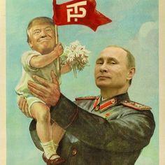 how sweet is that? putin and trump #putinandtrump #putin #trump #putintrump #newworldorder #politicalpower #howrealisthis #babytrump #mindofall