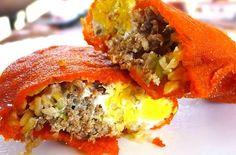 Vigan Empanada Recipe  http://www.pinoyrecipe.net/vigan-empanada-recipe/