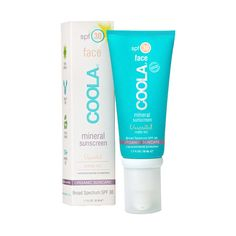 COOLA Tinted Matte SPF 30 for Face, $36.00 March Birchbox 2014. Used this on Abby. Looked and felt great!