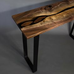 11 Best Black Walnut River Table Images In 2019 Resin
