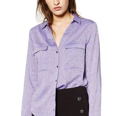 >> Click to Buy << Little Pattern Prints Women Shirt V-Neck Double Pocket Casual Long Sleeve Blouses Feamle Office Work Tops Blusas Chemise Femme #Affiliate