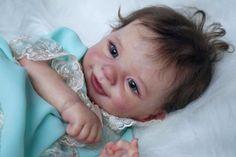 Reborn baby doll Sunny limited sold out (skulpt Joanna Kazmierczak)