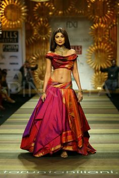 Shilpa, Harman & Ayesha walk for Tarun Tahiliani at WLIFW AW-14 | PINKVILLA
