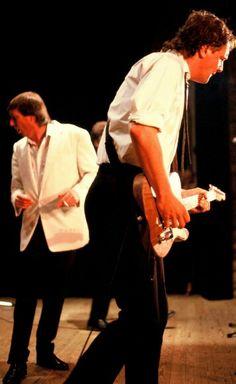 Lee & Steve in Lille '90. © Patrick HIGGINS