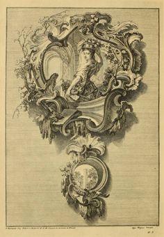 Rococo cartouche