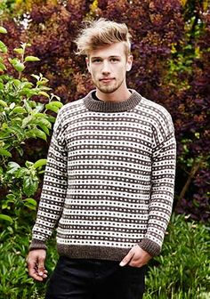Icelandic sweater for him