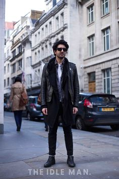 Chelsea Steps | Layer over your plain white t-shirt with a floral or pattern shirt, hoodie and leather jacket. Add some black skinny jeans, Chelsea boots and don't forget the shades. | Shop men's clothing at The Idle Man