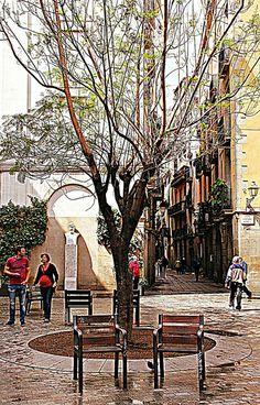 RINCONES DE BARCELONA  El  Born  Catalonia