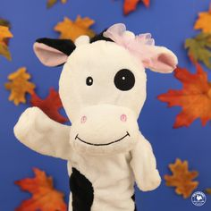 Our color of the month is black! Moooove in closer to see what color Molly's spots are. How many can your child find?