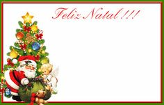 Cartão de Natal e Molduras de Natal em PNG - CALLY'S DESIGN-Kits Personalizados Gratuitos