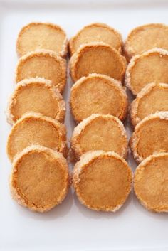 """Much easier than cookies! Let's make a luxurious taste """"Sakusaku Sable"""" at home. Easy Sweets, Homemade Sweets, Sweets Recipes, Brownie Recipes, Cake Recipes, Snack Recipes, Snacks, Desserts, Puff And Pie"""