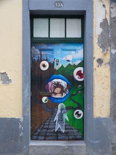 Funchal downtown, Madeira island