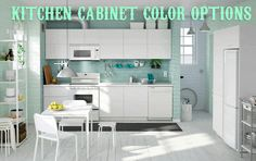 Picking out your kitchen cabinet colors can be tricky! Color and texture can turn a bland kitchen into a full flavored five star showplace. When remodeling a kitchen be sure to explore the wide range of cabinet colors and finishes. Learn more in this HGTV Remodels video!