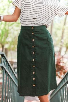 Hey there little lady, this midi skirt was made to be bold and fabulous! Wear...