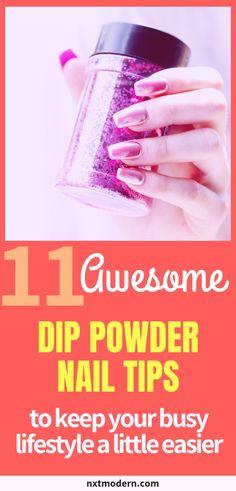 11 Fabulous Dip Powder Nail Tips to Simplify Your Routine 11 Dip Powder Nail Tips to Simplify Your Routine Dip Manicure, Routine, Nagel Hacks, Nail Polish, Nail Art Kit, Dipped Nails, Nails At Home, Nail Fungus, Dip Powder