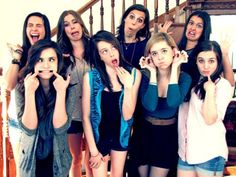Cimorelli and Megan and Liz pretty much my two favorite groups ever!!!!!!! Life is completed :)