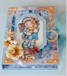 Love this...a tea light card, tutorial: http://stampartic.blogspot.com/2010/09/tea-light-card.html