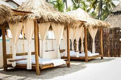 One of the favourite spots of our guests: Ocean Front Cabanas. #Beach #PuertoVallarta
