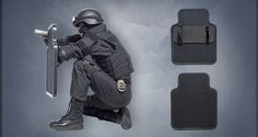 The MARS Armor ballistic shield provides comfortable front protection incorporating the latest materials and technology. The lightweight design of the shield ensures high mobility. Combat Armor, Combat Gear, Kevlar Armor, Tactical Wear, Police Gear, Concept Weapons, Armor Concept, Duty Gear, Tac Gear