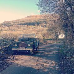 Had to take the old girl out #Blorenge #Abergavenny #Govilon #LandRover #LandRoverSeries #LandRoverSeries2a #SeriesLandRover #Series2a #ClassicCar