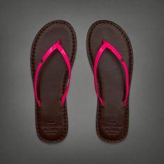 ♡ Follow Amazinggrace31   Abercrombie and Fitch flip flops