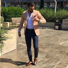 mens outfits ideas mens outfits in casual and mens outfits winter fashion, mens outdoor fashion Smart Casual Men, Stylish Men, Blazer Outfits Men, Casual Outfits, Casual Clothes, Dress Casual, Mode Masculine, Traje Casual, Loafers Outfit