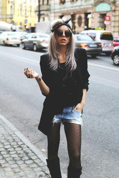 "fashion-clue: ""bouxtique: ""Carmen Grebenisan "" www.fashionclue.net| Fashion Tumblr, Street Wear & Outfits "" My Eyes, Leather Skirt, Street Wear, How To Make, How To Wear, My Style, Skirts, Net Fashion, Outfits"