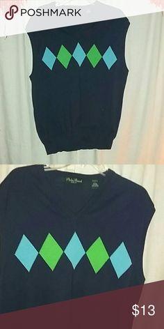??Palm Beach Golf Men's Sweater Vest 100% cotton Palm Beach Golf Sweaters