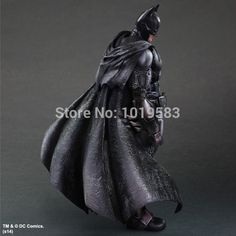 183.56$  Buy here - http://ali9rc.worldwells.pw/go.php?t=32239710800 - Free Shipping Brand New Hot Game Batman:Arkham Origins Batman 27CM PVC Action Figure Model Toy For Kids/Gift/Collection/Children