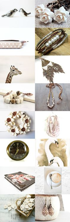 Wonderfully Neutral by Linda Karen on Etsy--Pinned+with+TreasuryPin.com