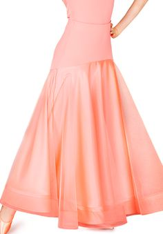 DSI Hettie Ballroom Dance Skirt 3212 | Dancesport Fashion @ DanceShopper.com