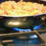 Beikostrezept - Rindfleisch Reis Pfanne