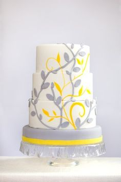 Gray and Yellow #Wed