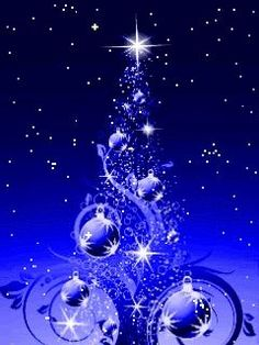 Stunning image - - from the clip art category animated Christmas Cards gifs & images! Animated Christmas Tree, Merry Christmas Gif, Christmas Card Images, Christmas Rock, Vintage Christmas Images, Purple Christmas, Christmas Scenes, Christmas Pictures, Beautiful Christmas