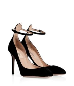 Valentino Suede High Heeled Pumps - #Valentino... http://ladiesstylish.com/designers/valentino/ #LadiesStylish #Designer #Clothes #Shoes