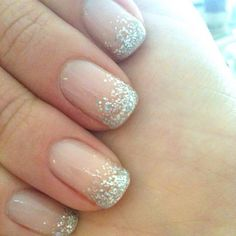 My wedding nails looked just like this, I loveeed them  so did everyone else! ;)