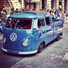 VW Double Cab.