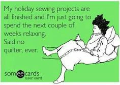 .christmas humour sewing