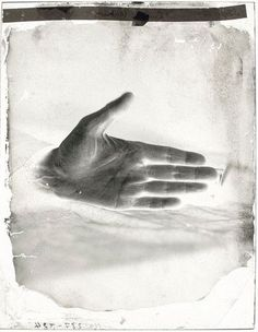 The Hand of the Banker D., printed in one hour with electric lighting (1861) – Félix Nadar (French, 1820–1910)