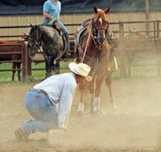Hey, Kid, Slow Down – America's Horse Daily/                    team roping