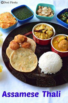 Assamese Thali / Aalohir Exaj