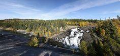 Cameron Falls, Yellowknife NT